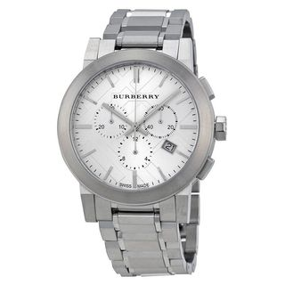 Burberry Men's BU9350 'Large Check' Chronograph Stainless Steel Watch