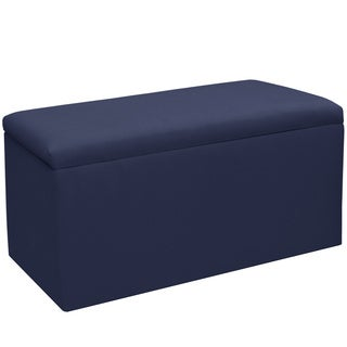 Skyline Furniture Kids Storage Bench in Duck Navy