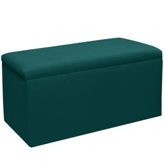 Skyline Furniture Kids Storage Bench in Duck Peacock