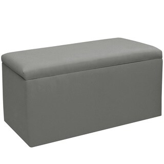 Skyline Furniture Kids Storage Bench in Duck Grey