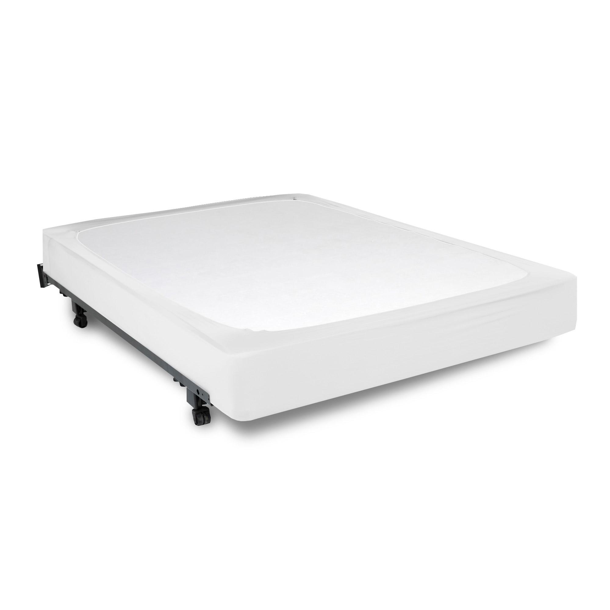 Fashion Bed Group Sleep Plush StyleWrap White Fabric Box ...