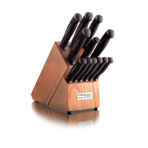 Cold Steel Kitchen Classics 12-piece Whole Knife Set