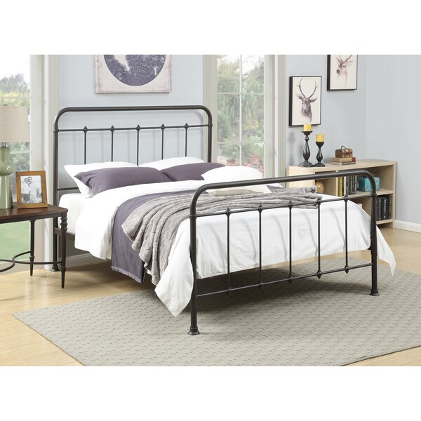 Metal Queen Size Bed Free Shipping Today Overstock Com