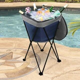 Sunjoy Folding Ice Bucket