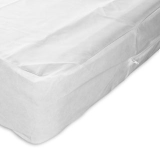 Sleep Calm Nonwoven Zippered Box Spring Encasement with Bed Bug Defense