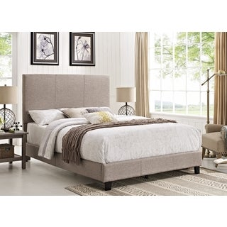 Picket House Jana Grey Fabric Queen Bed