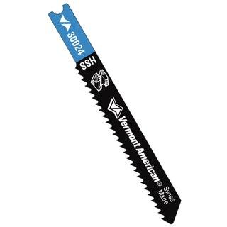 "Vermont American 30024 2-3/4"" 12 TPI HSS U-Shank Metal Cutting Jig Saw Blade"