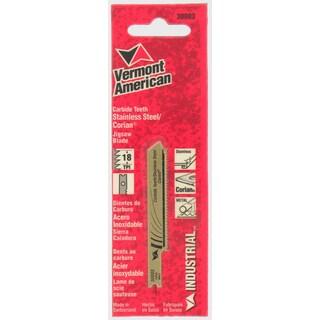 "Vermont American 30003 2-3/4"" 18 Tpi Carbide Jigsaw Blade"
