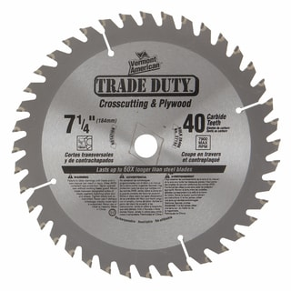 "Vermont American 27192 7-1/4"" 40 Tooth Framing Blade"