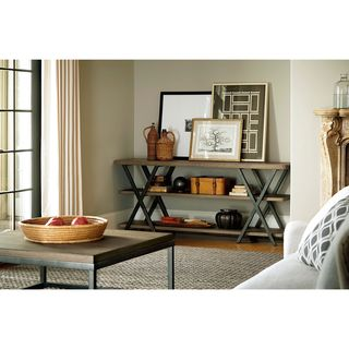 Berkeley 3 Brownstone Complete Entertainment Console