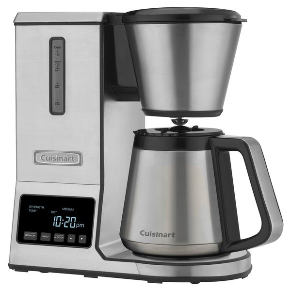 shop cuisinart cpo 850 8 cup pour over coffee brewer coffeemaker with thermal carafe free. Black Bedroom Furniture Sets. Home Design Ideas