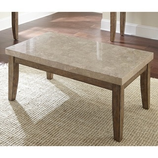 Fulham Marble Top Coffee Table By Greyson Living