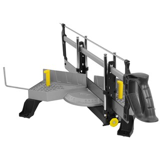 Stanley Hand Tools 20-800 Clamping Miter Box With Saw