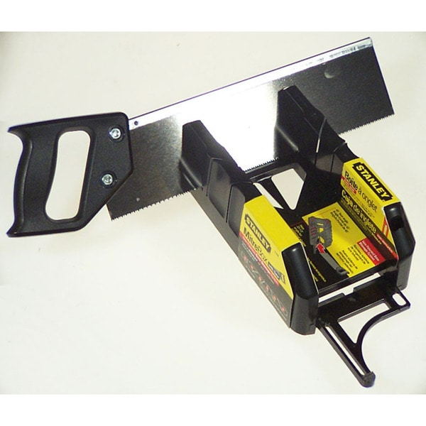 Stanley Hand Tools 19-800 Saw Storage Mitre Box With Saw  sc 1 st  Overstock.com & Shop Stanley Hand Tools 19-800 Saw Storage Mitre Box With Saw - Free ...