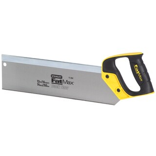 "Stanley Hand Tools 17-202 14"" FatMax Back Saw"