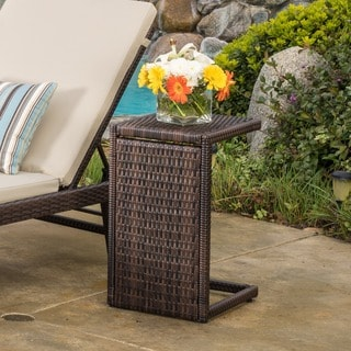 Bucharest Outdoor Side Table by Christopher Knight Home