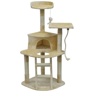 Homessity 49-inch Lightweight Cat Tree With Ladder