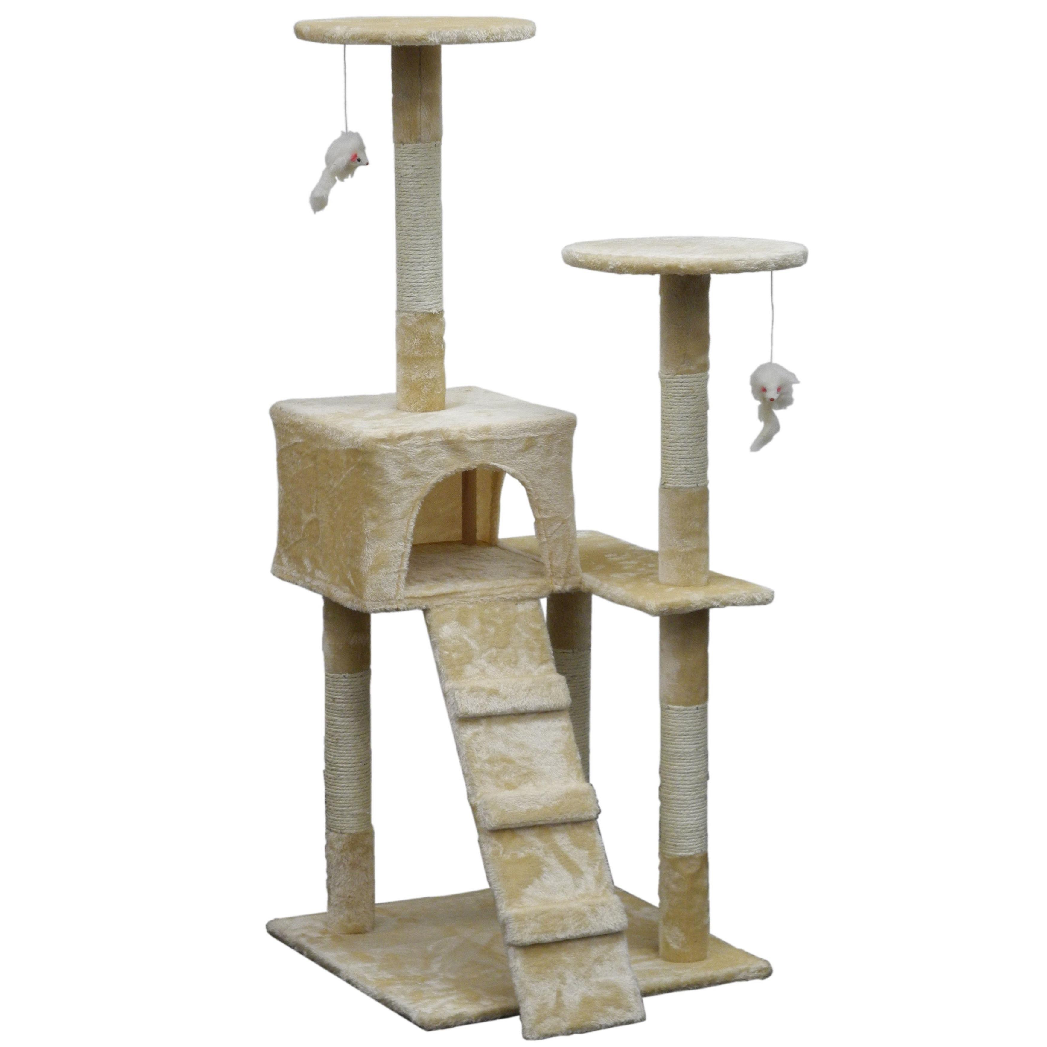GoPetClub Homessity 51-inch Lightweight Condo Cat Tree (B...
