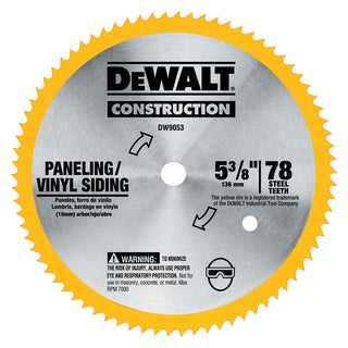 """DeWalt DW9053 5-3/8"""" Saw Blade"""