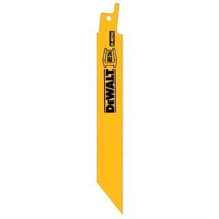 "DeWalt DW4811B25 6"" 18 TPI Reciprocating Saw Blade"
