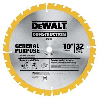 Dewalt DW3103 Large Diameter General Use Construction Blades
