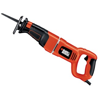 Black & Decker Power Tools RS500K 1 7.5 Amp Variable Speed Reciprocating Saw Kit - Orange