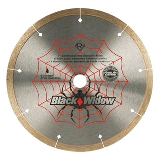 "QEP 6-7008BW 7"" Black Widow Saw Blade"