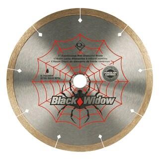 """QEP 6-7008BW 7"""" Black Widow Saw Blade"""