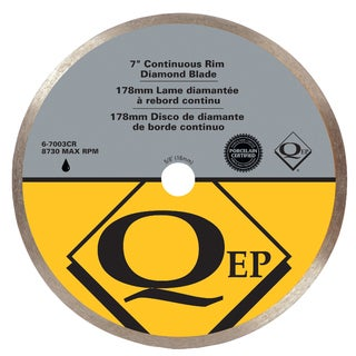 "QEP 6-7003Q 7"" Continuous Rim Diamond Saw Blade"