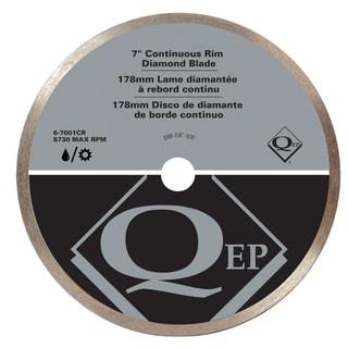 """QEP 6-7001Q 7"""" Continuous Rim Diamond Tile Saw Blade"""