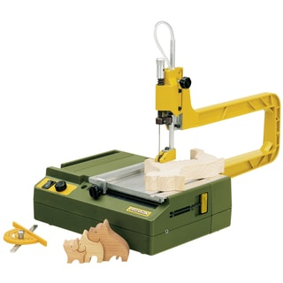 Proxxon 37088 Scroll Saw With Stable Ribbed Die Cast Aluminum Saw Frame