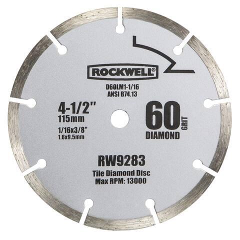 "Rockwell RW9283 4-1/2"" Segmented Diamond Saw Blade"