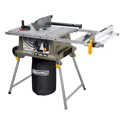 "Rockwell RK7241S 10"" Table Saw With Laser"