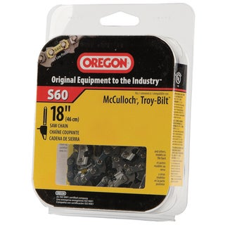 "Oregon S60 18"" HD Semi Chisel Cutting Chain"