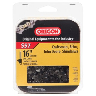 "Oregon S57 16"" HD Semi Chisel Cutting Chain"