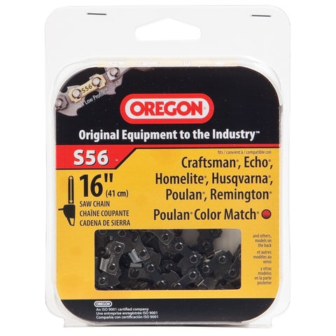 "Oregon S56 16"" HD Semi Chisel Cutting Chain"