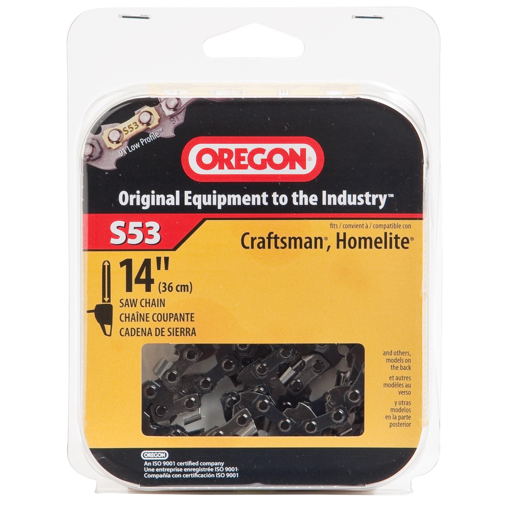 "Oregon S53 14"" Semi Chisel Cutting Chain (Saws/sawblades)..."