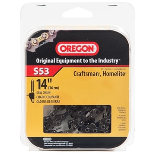 "Oregon S53 14"" Semi Chisel Cutting Chain"