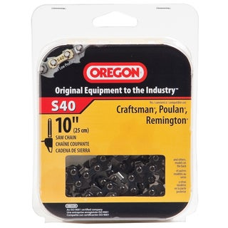 "Oregon S40 10"" Semi Chisel Cutting Chain"