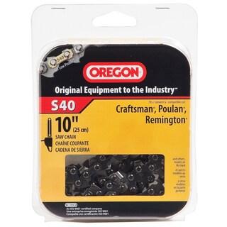 "Oregon S40 10"" Semi Chisel Cutting Chain"
