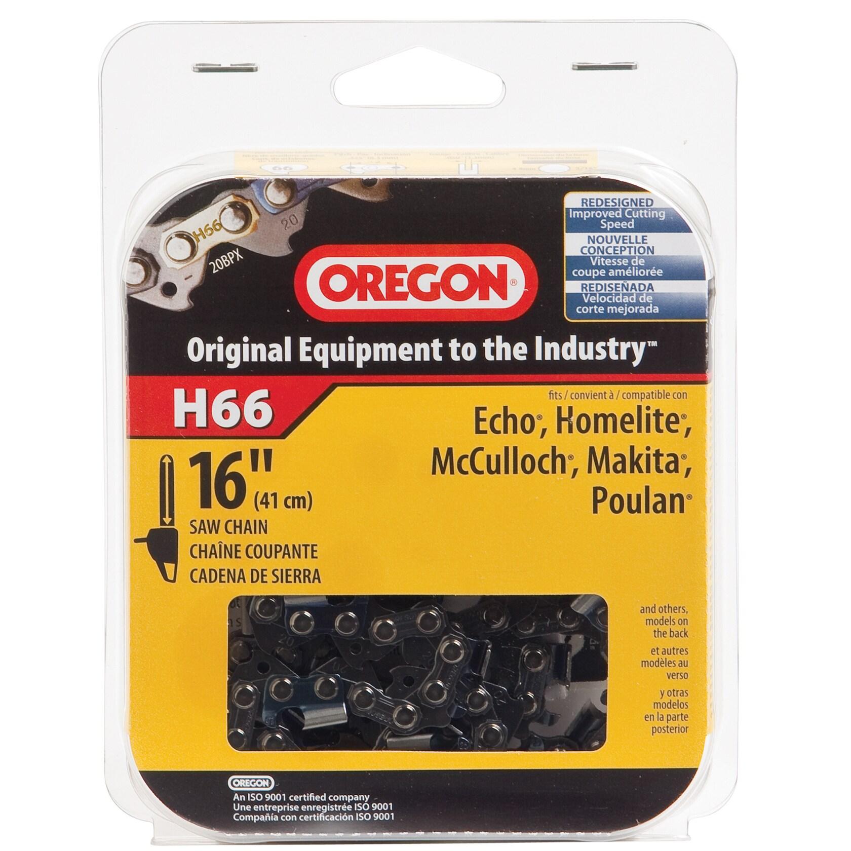 """Oregon H66 16"""" HD Full Chisel Cutting Chain (Saws/sawblad..."""