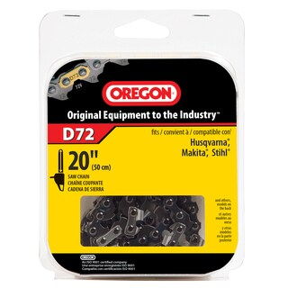 "Oregon D72 20"" Premium Vanguard Saw Chain"