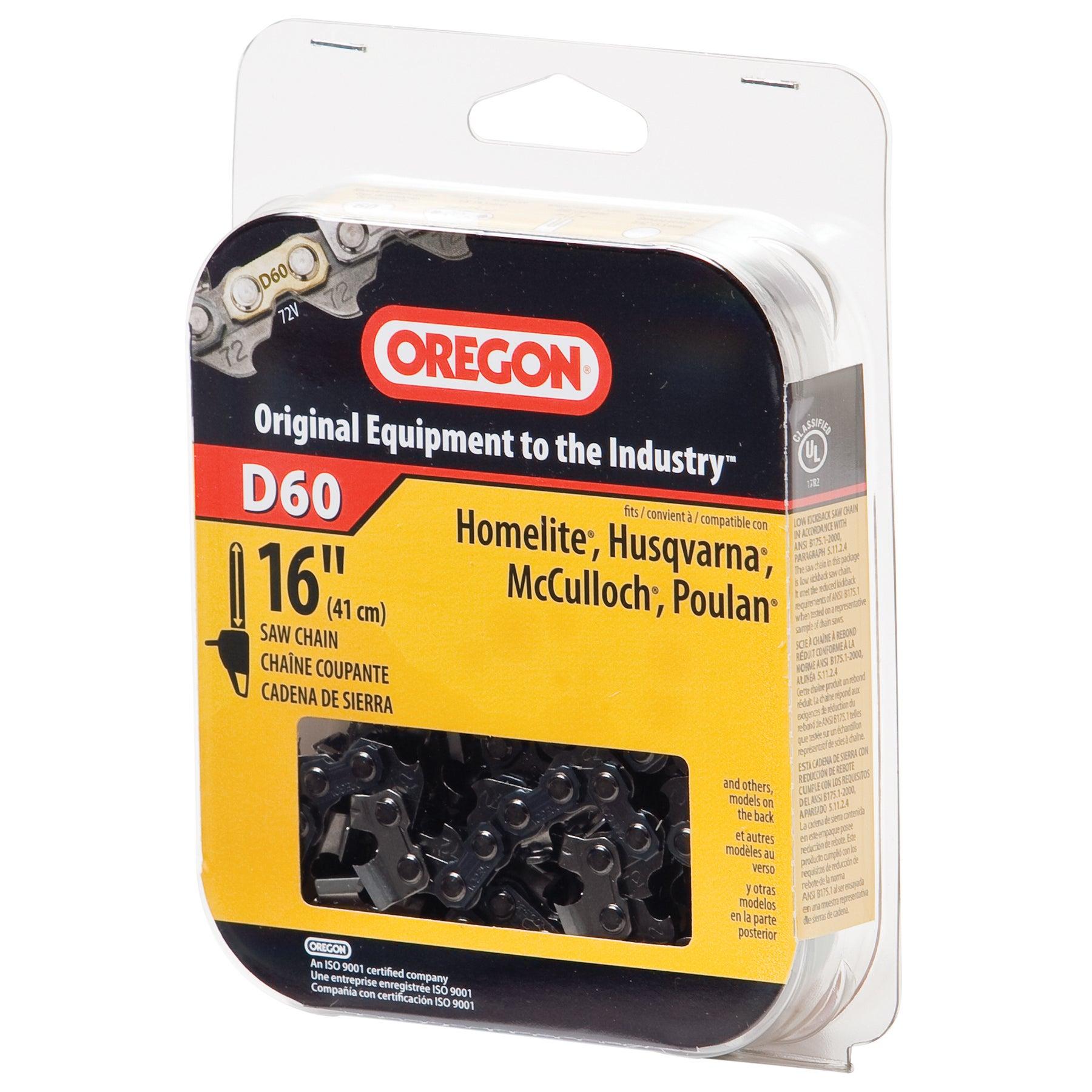 "Oregon D60 16"" Full Chisel Cutting Chain (Saws/sawblades)..."