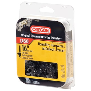 "Oregon D60 16"" Full Chisel Cutting Chain"