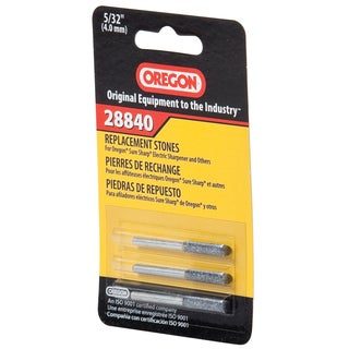 "Oregon 28840 5/32"" Electric Sure Sharp Replacement Sharpening Stones"