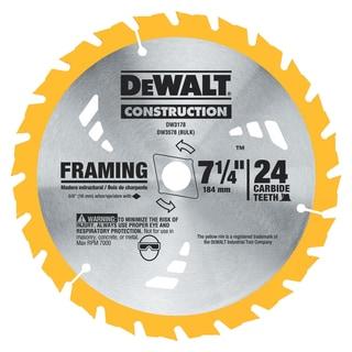 """DeWalt DW3591B10 7-1/2"""" 18 TPI Nail Cutting Circular Saw Blade"""