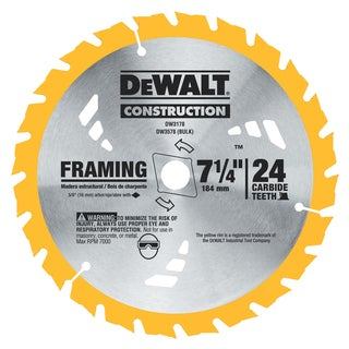 "DeWalt DW3576B10 7-1/4"" 36 TPI Finishing Saw Blade"