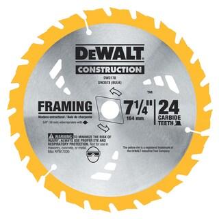 """DeWalt DW3576B10 7-1/4"""" 36 TPI Finishing Saw Blade"""