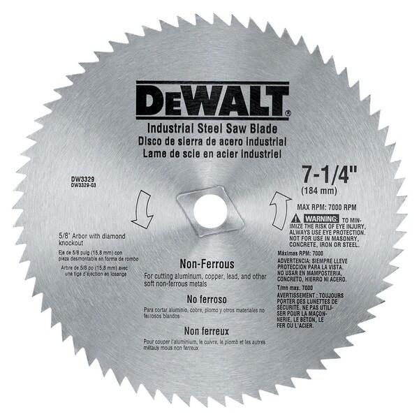 Shop dewalt dw3329 7 14 non ferrous circular saw blade free dewalt dw3329 7 14 non ferrous circular saw blade keyboard keysfo Choice Image