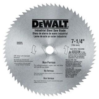 """Dewalt DW3329 7-1/4"""" Non Ferrous Circular Saw Blade"""